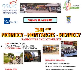 Mennecy-Montargis-Mennecy 2012 - AFFICHE Diaporama