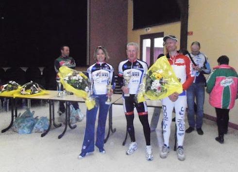 UFOLEP GS - Noisy 11/03/2012 - Victoire JP Cordelle - Cyrille LEPROUST 3è - 1er Prix d'équipe AAOC