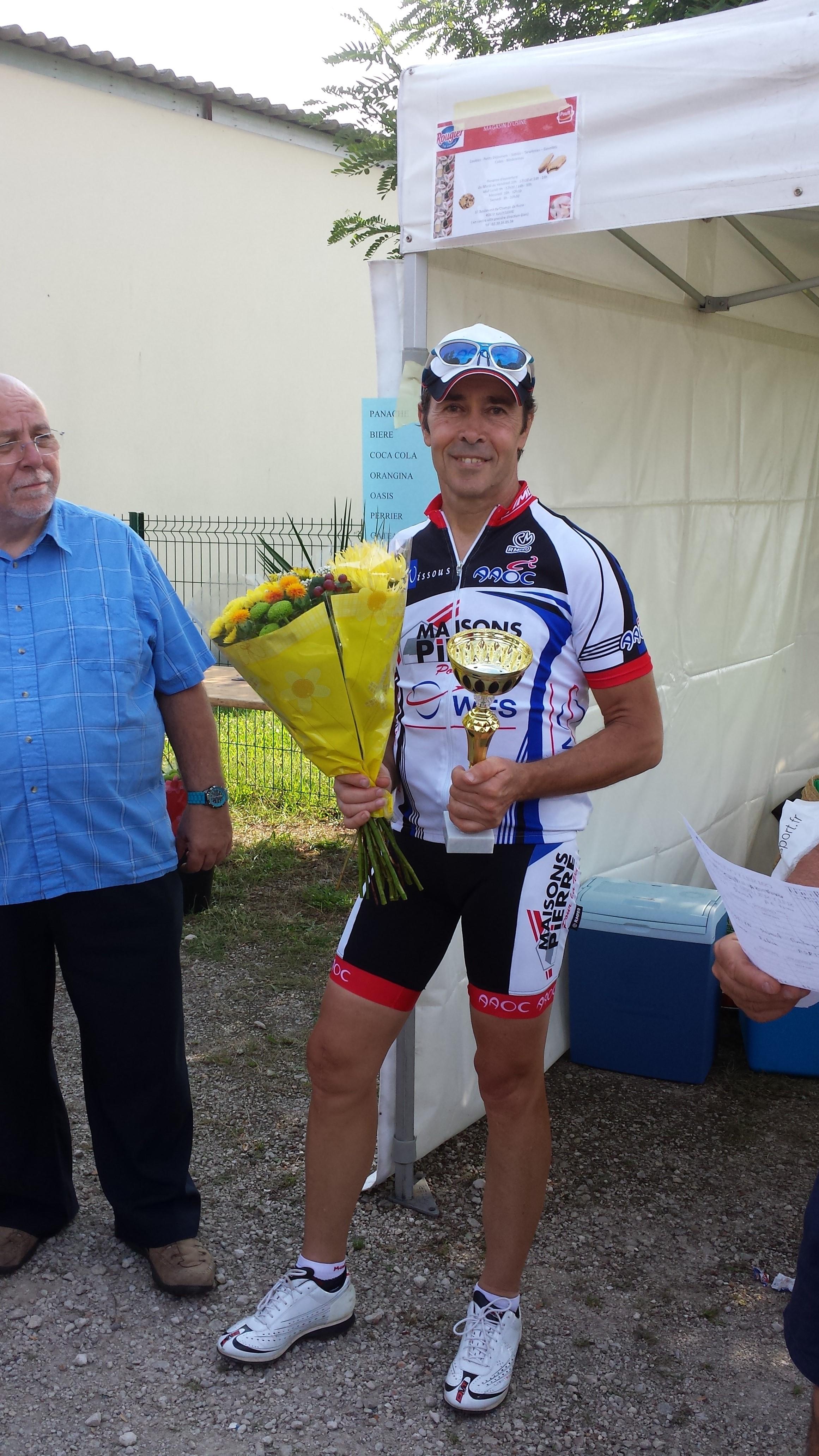 Retour gagnant de Dominique à Sully sur Loire le 27 juillet