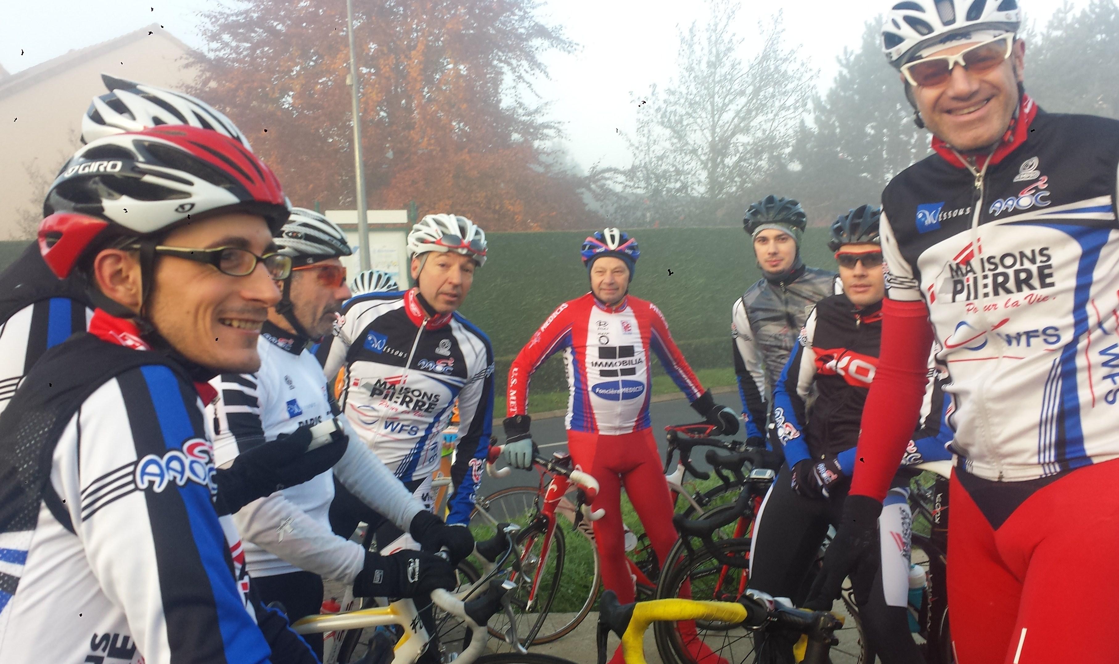 Le Groupe avant le départ