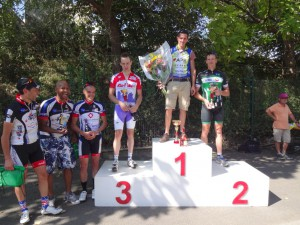 Morangis - 30/08/2015 Prix d'équipe en Cat.1
