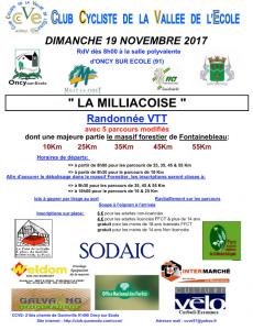 La Milliacoise 2018
